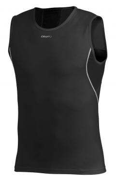 Craft Stay Cool Mesh sleeveless shirt zwart heren