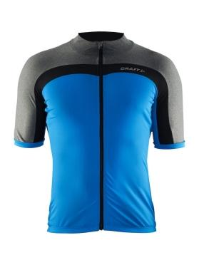 Craft Velo fietsshirt grijs/blauw heren