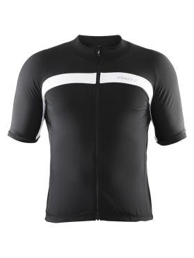 Craft Velo fietsshirt zwart/wit heren