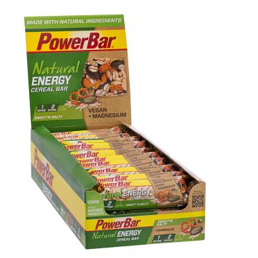 Powerbar Natural energy bar sweet'n salty 24 x 40 gram