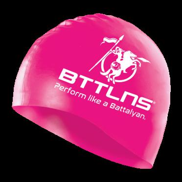 BTTLNS Siliconen badmuts neon-roze Absorber 2.0
