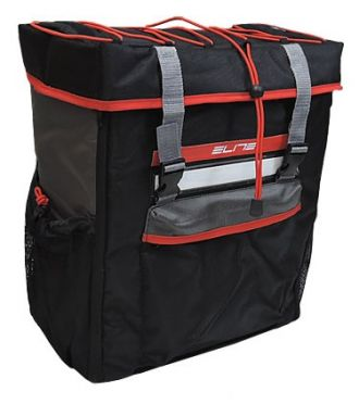 Elite Tri box Transition rugzak zwart/rood