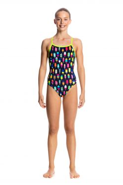 Funkita Frosty fruits tie me tight badpak meisjes