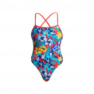 Funkita Aloha from Hawaii Cut away badpak dames