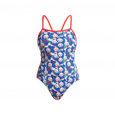Funkita Pandamania single strap badpak dames