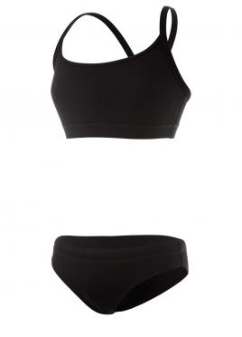 Funkita Still zwart Sports bikini set dames