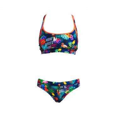 Funkita Tropic tag Sports bikini set dames