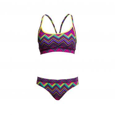 Funkita Knitty gritty Sports bikini set dames