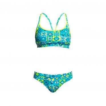 Funkita Lime light Sports bikini set dames