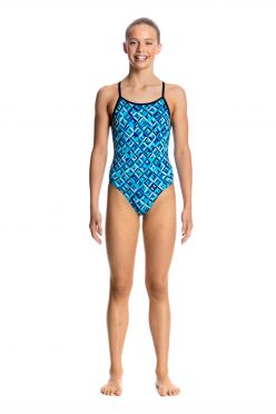 Funkita Ice attack diamond back badpak meisjes