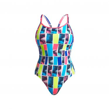 Funkita Palm bar diamond back badpak dames