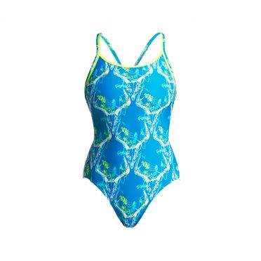 Funkita Thirsty cow diamond back badpak dames