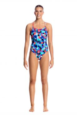 Funkita Vincent van Funk diamond back badpak dames