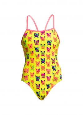 Funkita Hot diggity single strap badpak dames