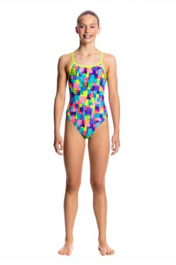 Funkita Madam monet single strap badpak meisjes