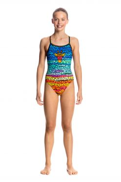 Funkita Scorching hot single strap badpak meisjes