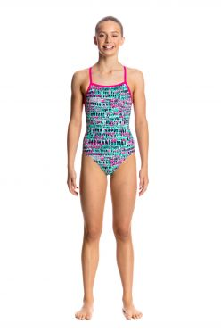 Funkita Minty madness strapped in badpak meisjes