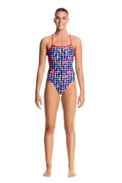 Funkita Inked strapped in badpak dames