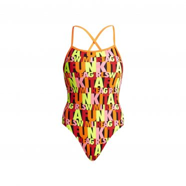 Funkita Swim girl swim strapped in badpak dames