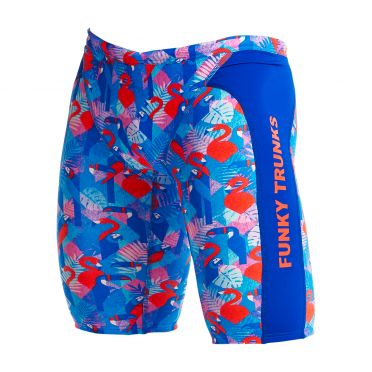 Funky Trunks Flaming Vegas Training jammer zwembroek