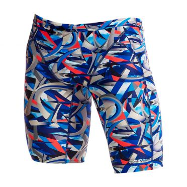 Funky Trunks Futurismo Training jammer zwembroek