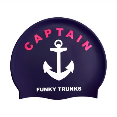 Funky Trunks Siliconen badmuts Captain Funky