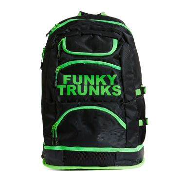 Funky Trunks Elite squad zwemtas Lime light