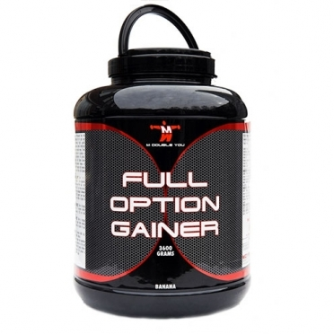 M Double You Full Option Gainer 3600 gram vanille