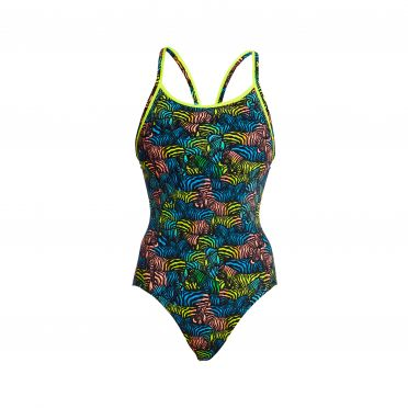 Funkita Colour Run Eco diamond back badpak dames