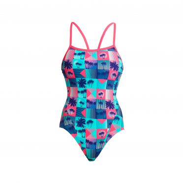 Funkita Club Tropicana single strap badpak dames