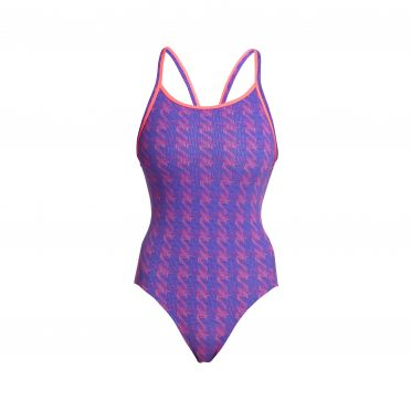 Funkita Tetris Time diamond back badpak dames