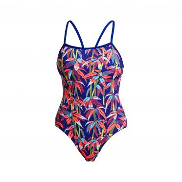 Funkita Bambamboo single strap badpak dames