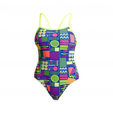 Funkita Packed Lunch single strap badpak dames
