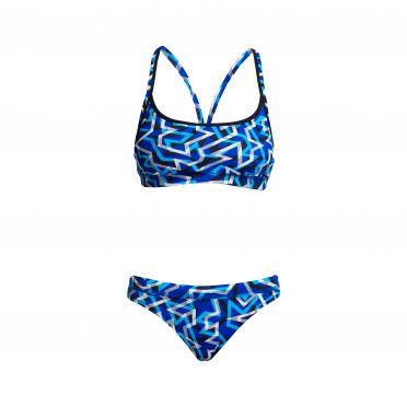 Funkita Ticker Tape bikini set dames