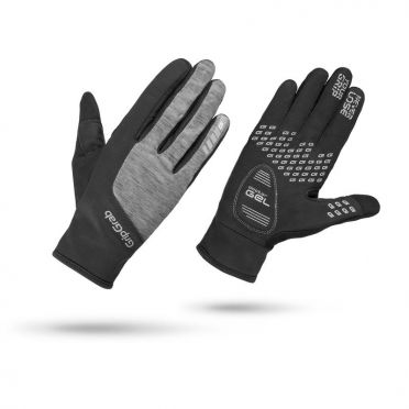 GripGrab Women's hurricane fietshandschoenen zwart/grijs dames