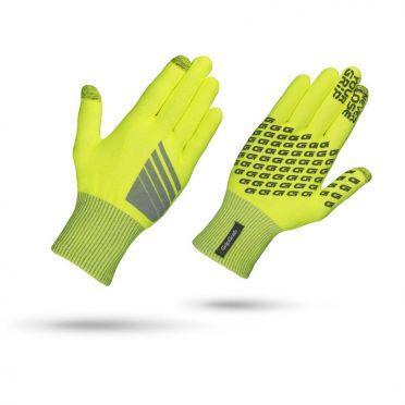 GripGrab Primavera hi-vis fietshandschoenen geel