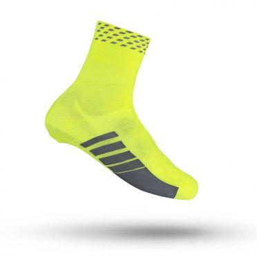 GripGrab Primavera cover sock hi-vis oversokken geel