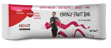 Hiddit Energy fruit reep kers 12x33g