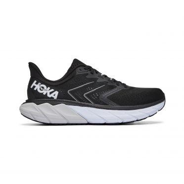 Hoka One One Arahi 5 hardloopschoenen zwart/wit heren