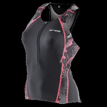Orca Core support singlet zwart/roze dames