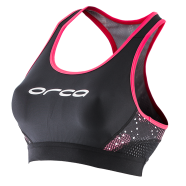 Orca Core support bra zwart/roze dames