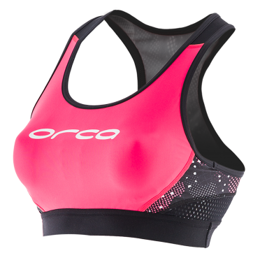 Orca Core support bra roze/zwart dames