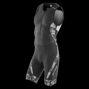 Orca 226 kompress race trisuit mouwloos zwart heren