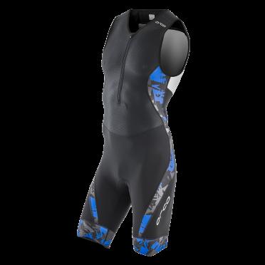 Orca 226 kompress race trisuit mouwloos blauw heren