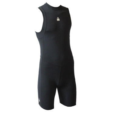 Ironman trisuit back zip mouwloos B9 zwart heren