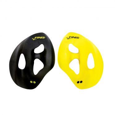Finis ISO handpeddels geel/zwart