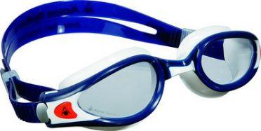Aqua Sphere Kaiman EXO transparante lens zwembril blauw/wit