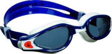 Aqua Sphere Kaiman EXO donkere lens zwembril blauw/wit