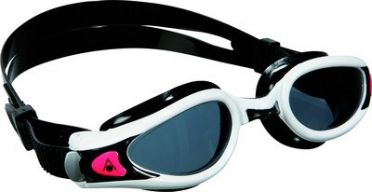 Aqua Sphere Kaiman EXO Lady donkere lens zwembril zwart/wit