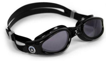 Aqua Sphere Kaiman donkere lens small fit zwembril zwart